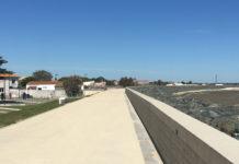 Les zones basses de l'agglomération rochelaise sont désormais protégées par un système d'endiguement continu
